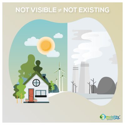 Pollution emissions are sometimes not visible but that doesn't mean they don't exist.