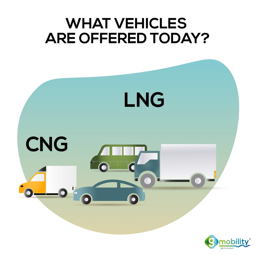 gmobility - gas vehicles on CNG and LNG