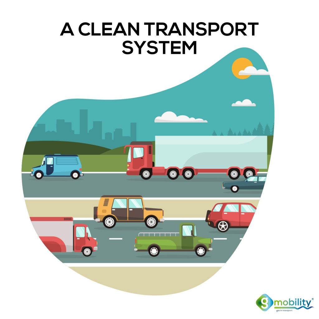 A clean transport system