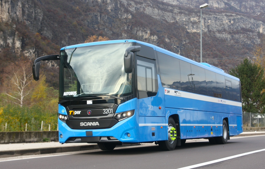The first LNG buses in Europe are on the road