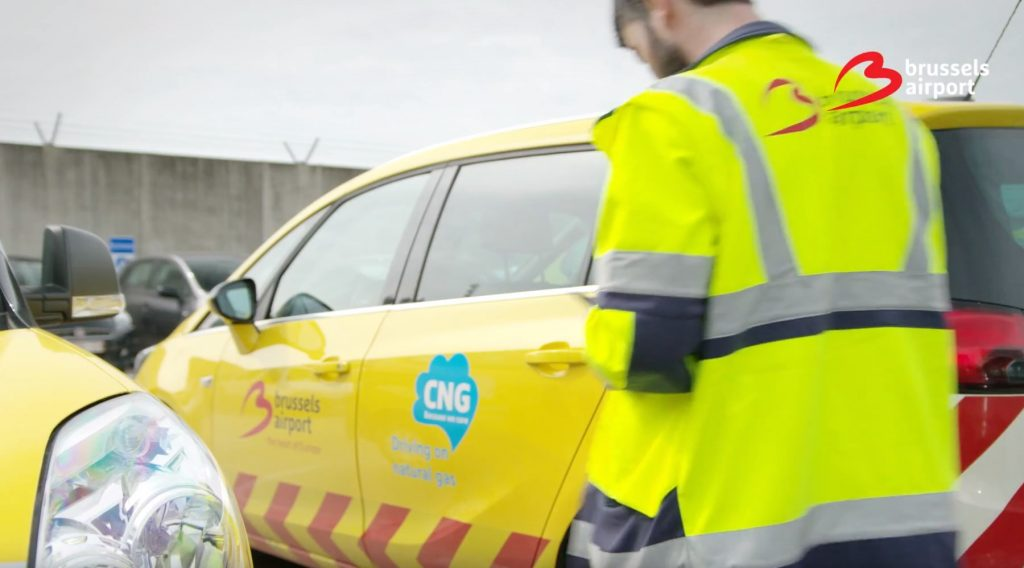 Brussels Airport - CNG