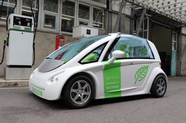Softcar - the biogas prototype
