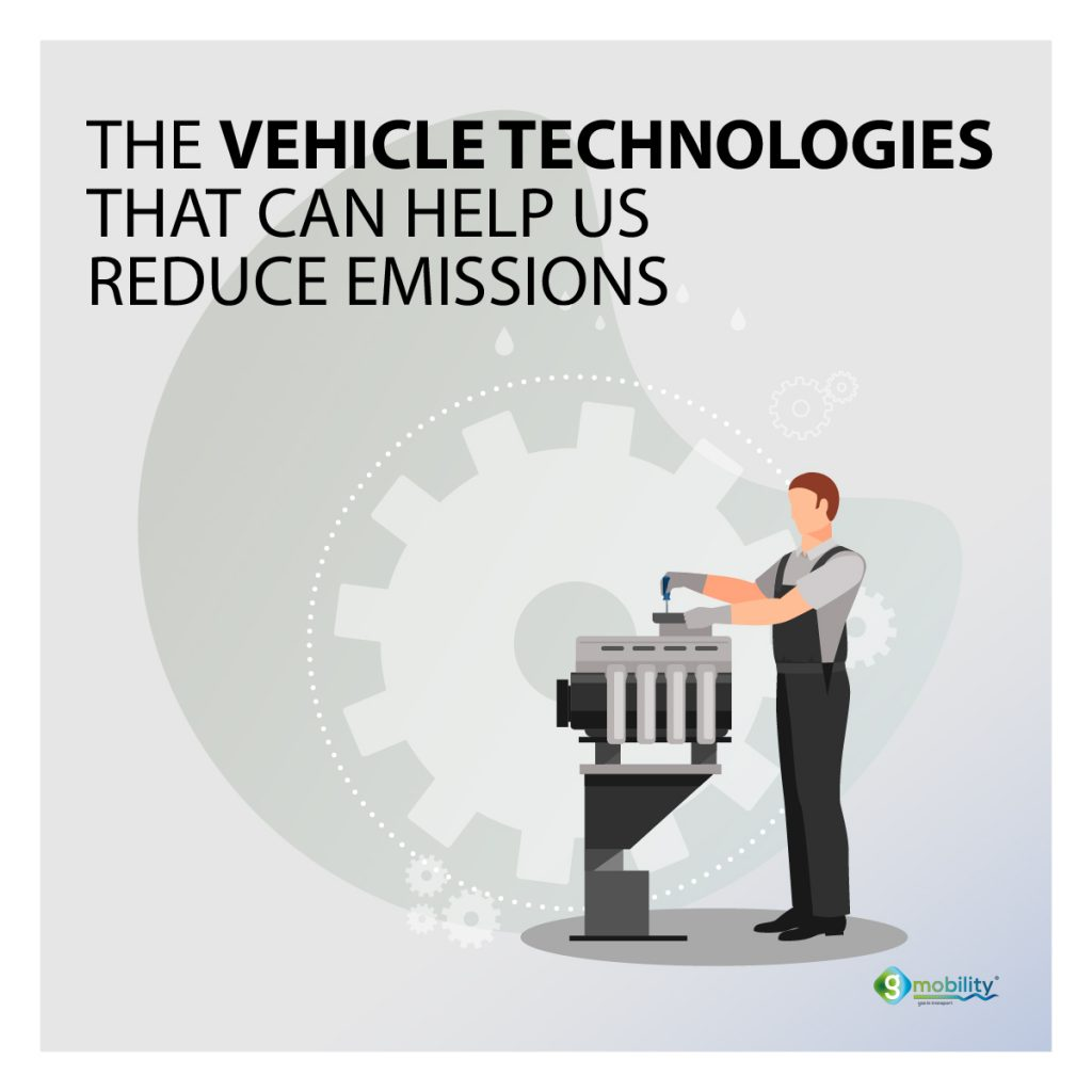 The vehicle technologies  that can help us  reduce emissions.