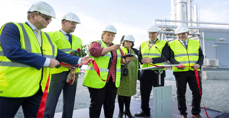 In Norway, Biokraft AS has inaugurated the world´s largest plant for the production of liquefied biogas (LBG).