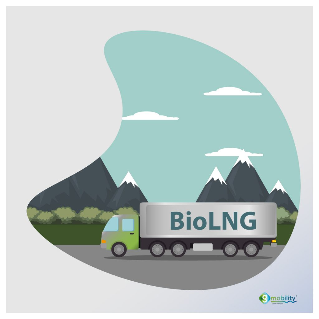 BioLNG for heavy duty transport