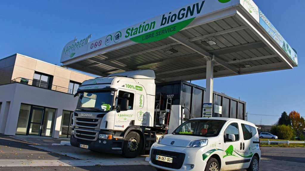 Brittany (France) invests in biogas stations to promote greener transport.