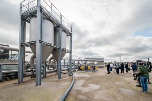 First injection of green gas into the Walloon network