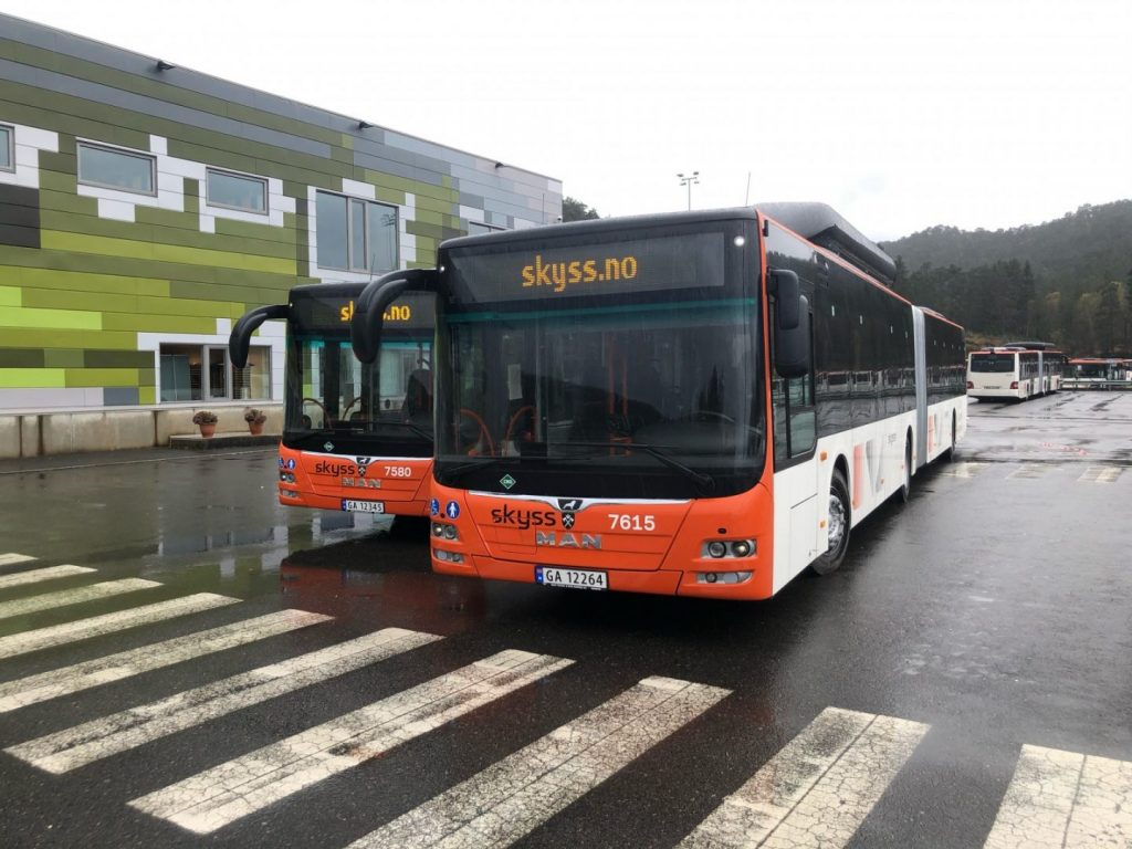 These 125 city buses will service the northern part of Bergen, namely the areas of Åsane, Arna and Osterøy, where Tide Buss took over operation of the bus routes in October 2020.