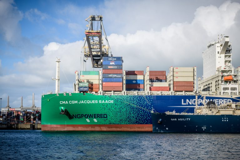 Biomethane used in major Dutch LNG bunkering operation