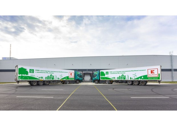 Kaufland Bulgaria supports the development of green logistics in the country