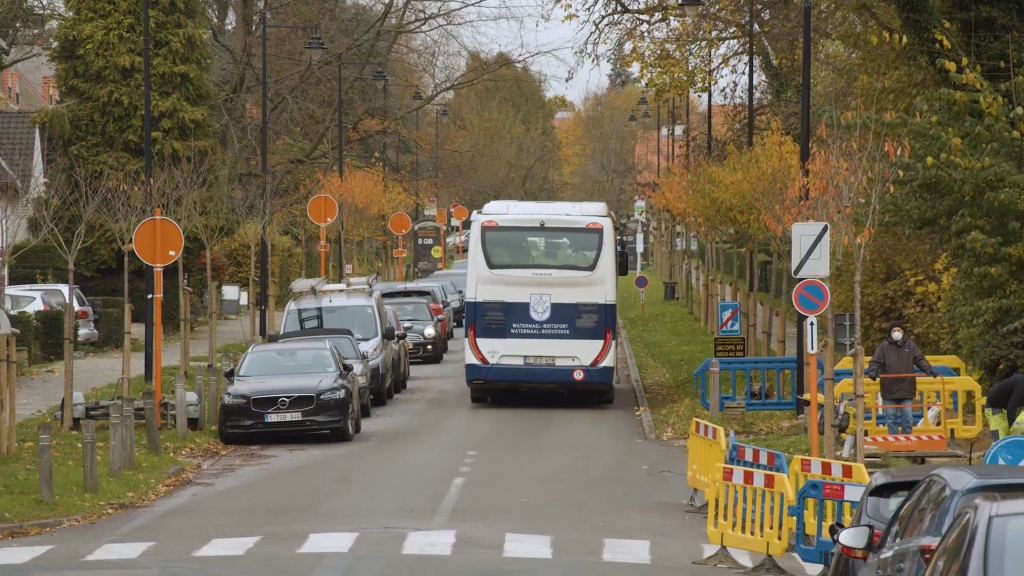 The European school of Laeken chooses the bus at the CNG