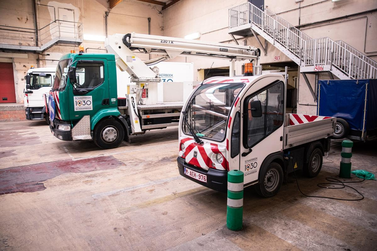 Schaerbeek investing in a green fleet