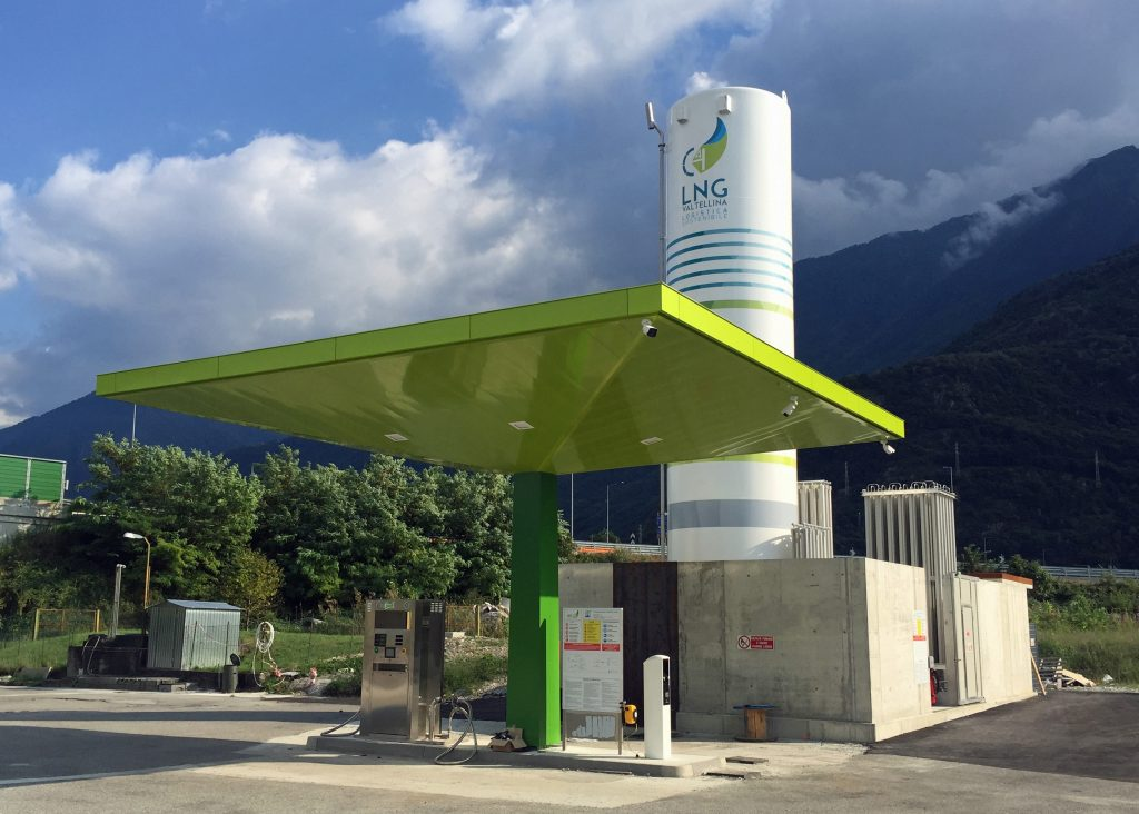 HAM Groups celebrated the delivery of its 100 LNG refuelling station