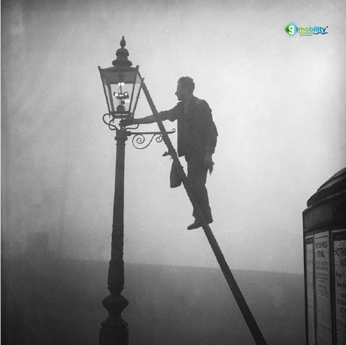 Before the 20th century, natural gas had limited use – it was only used for street lighting. As a naturally occurring product in oil fields, there was no commercial use for it and without economic viability, it was either released in the atmosphere or burned in a practice called production flaring